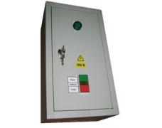 Щит управления вентилятором ЩУВ-380-М в металлическом корпусе